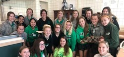 Erika LaRosa Maurer '13 Creates Sportsmanship and Spirit Club