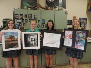 Seton Art Students Work Chosen for Ohio Art Education Association Exhibit