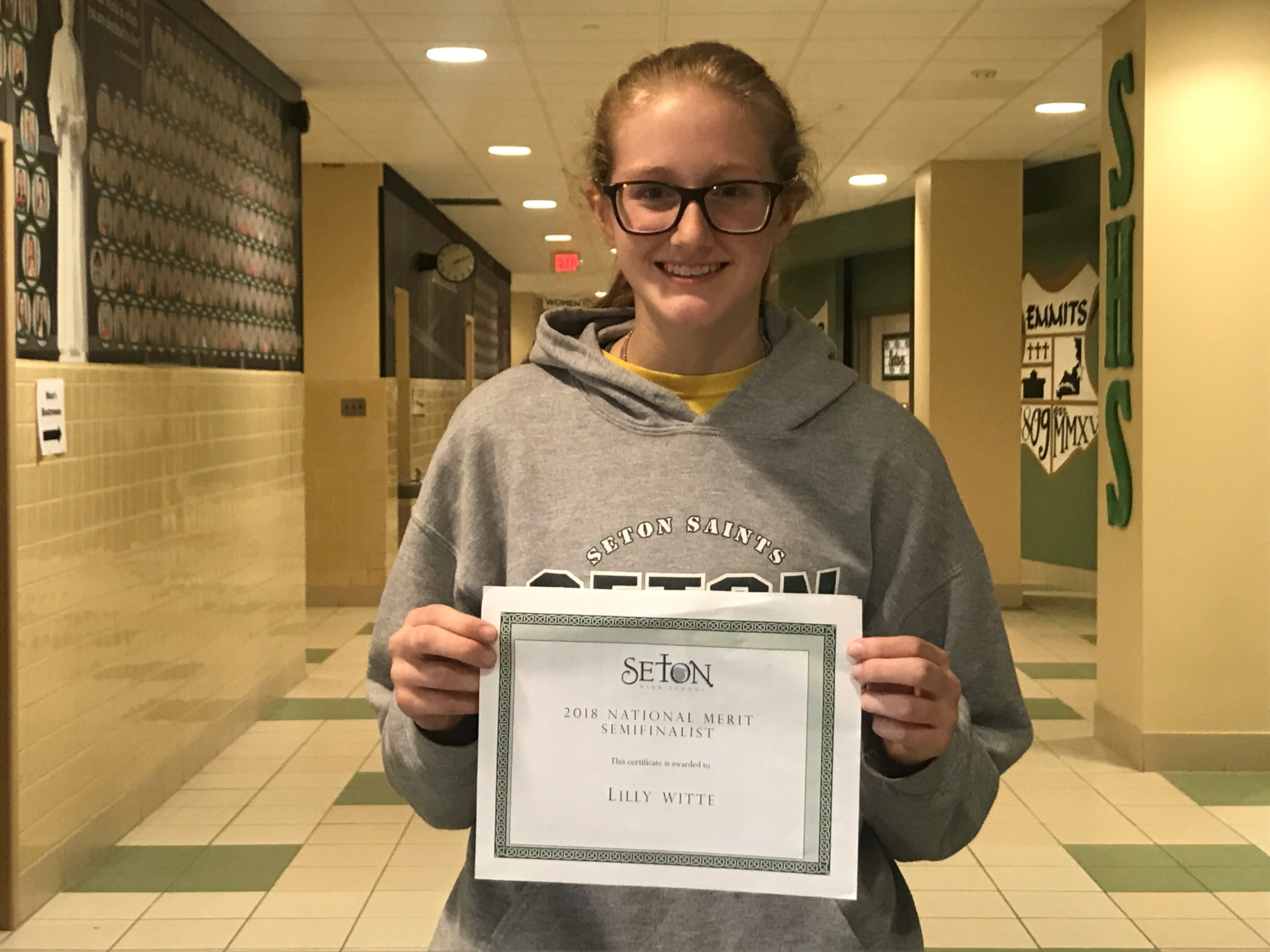 Lilly Witte National Merit Semifinalist