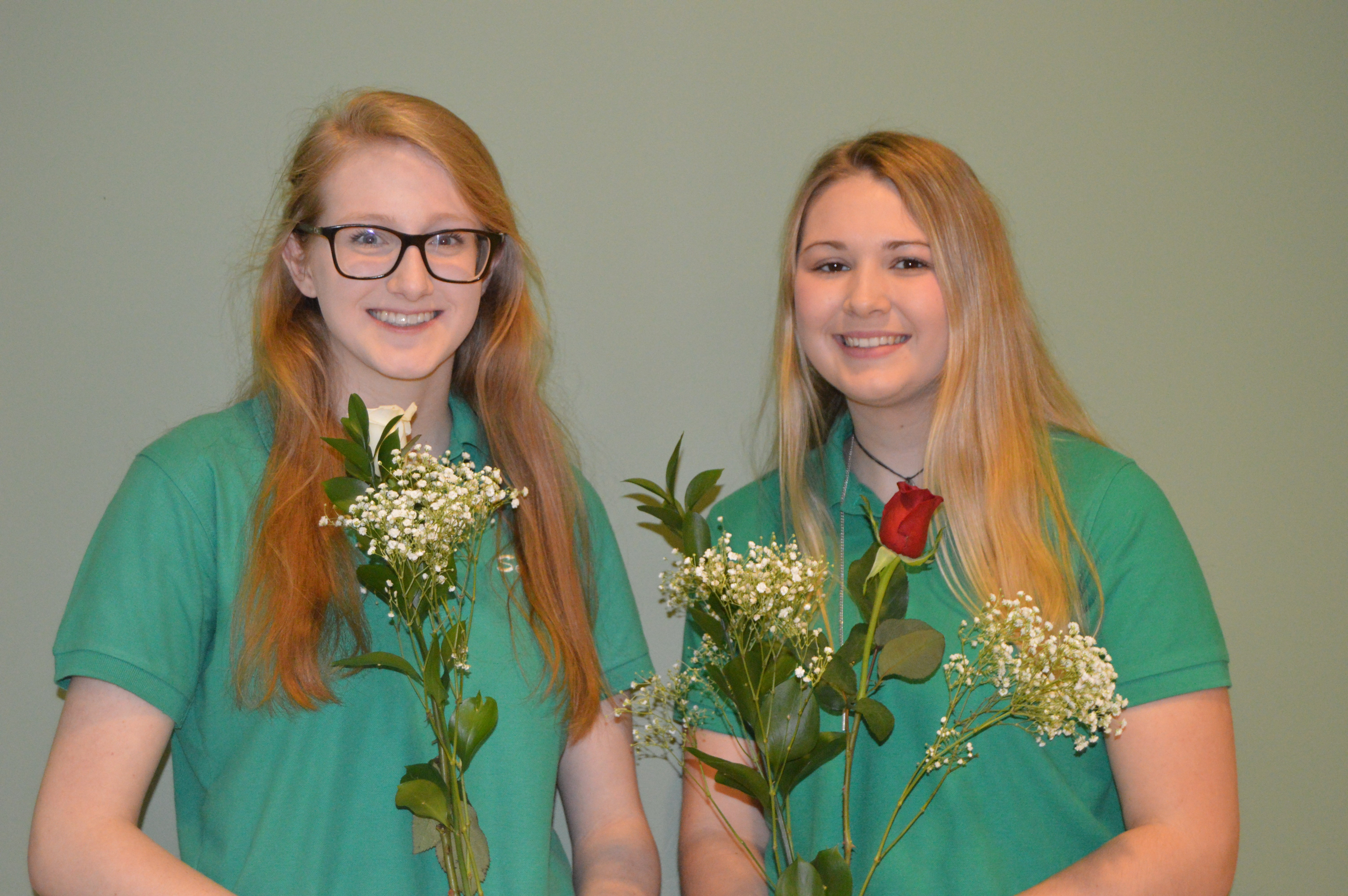 Congratulations Valedictorian Lilly Witte and Salutatorian Maria Striebich