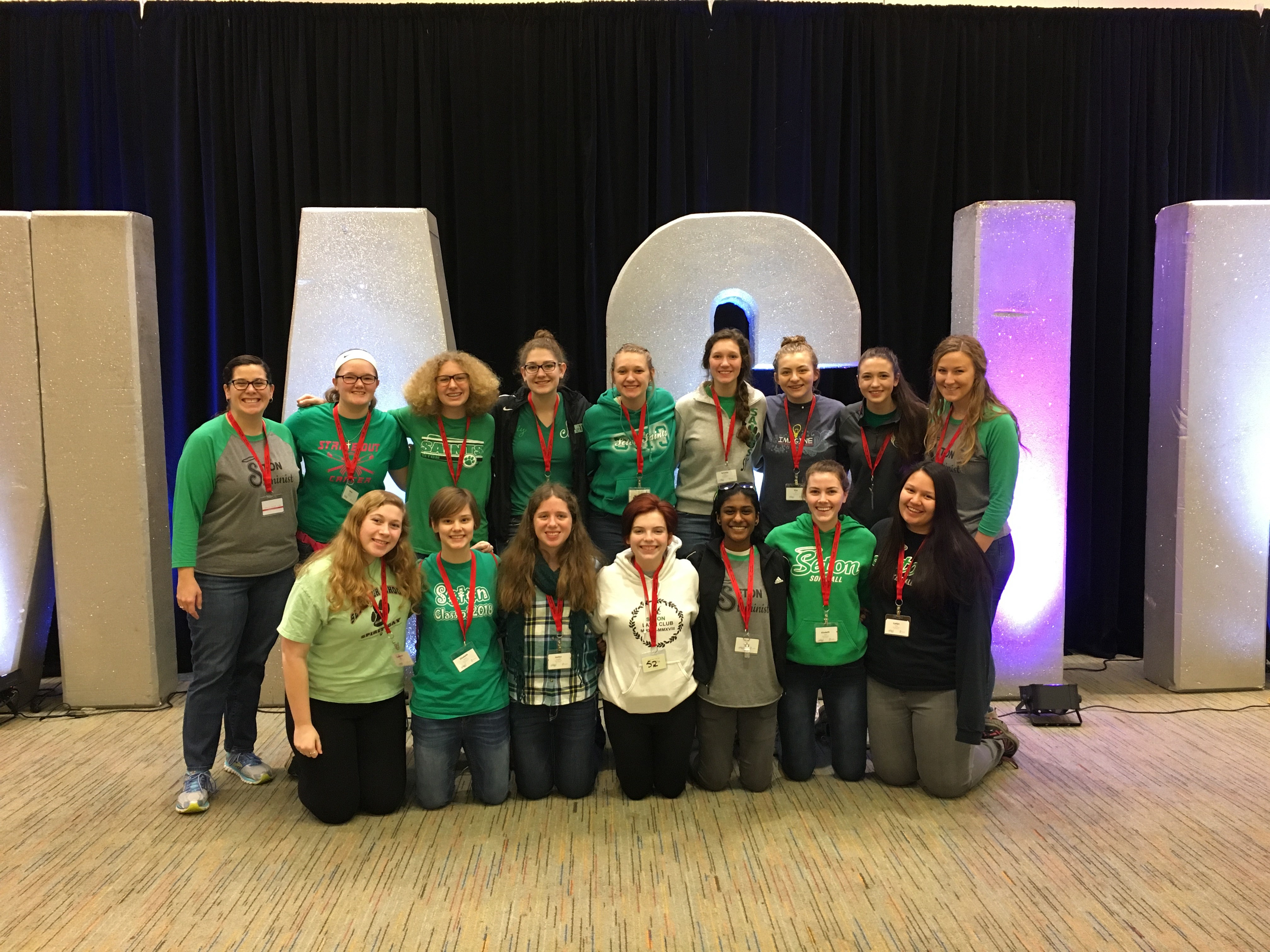 Seton students attend TechOlympics 2018