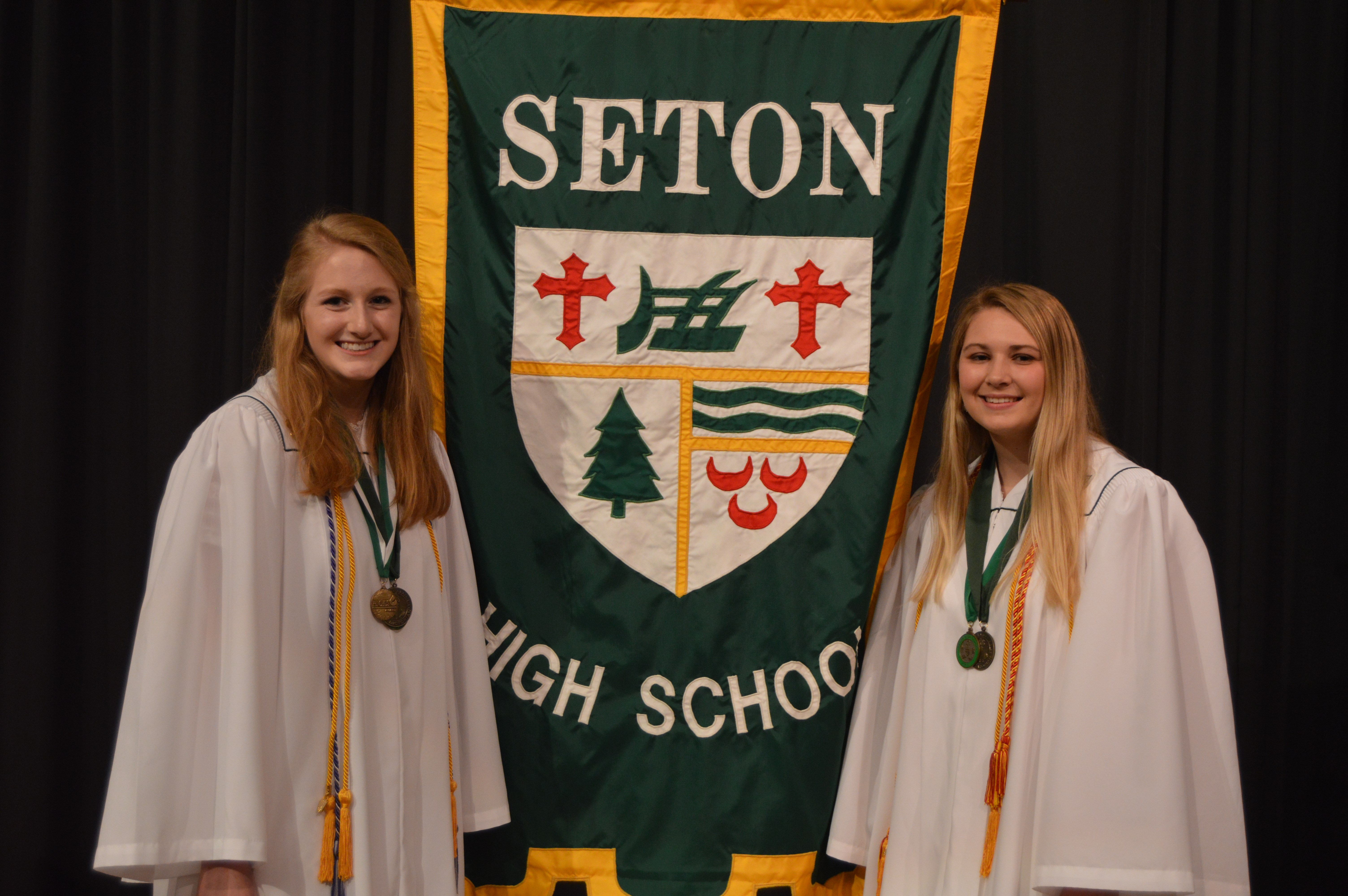 Seton's val, sal prepared for future success