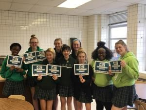 Seton students take SNAP Challenge